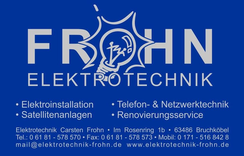 Elektrotechnik Frohn
